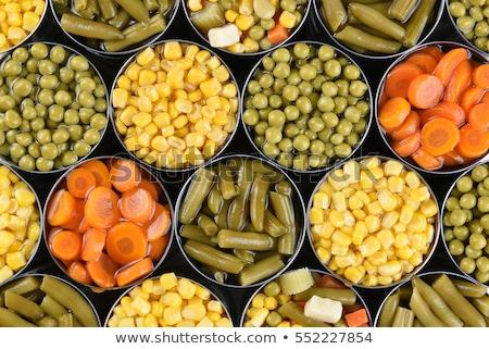 Canned vegetables stock photo © tatiana3337