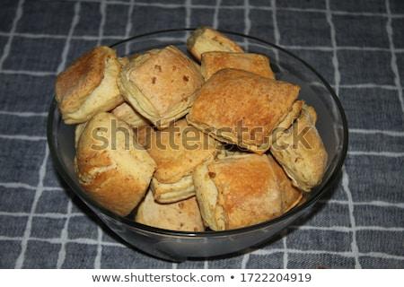 cerdo · cuchara · de · madera · grasa · aislado · ingrediente - foto stock © Digifoodstock