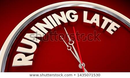 время · школы · красочный · часы · белый - Сток-фото © fuzzbones0