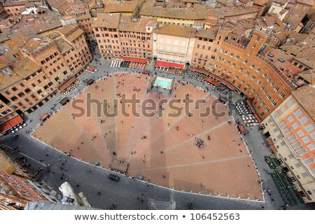 Fonte Gaia at Piazza del Campo in Siena Stock photo © boggy