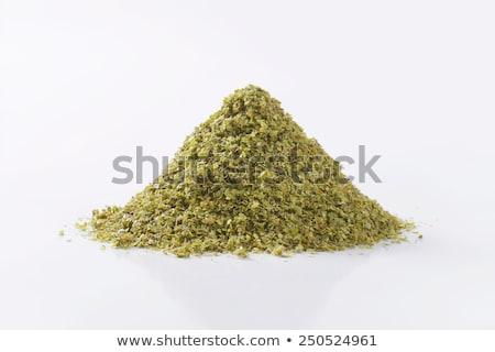 Essiccati foglie ciotola alimentare erbe Foto d'archivio © Digifoodstock