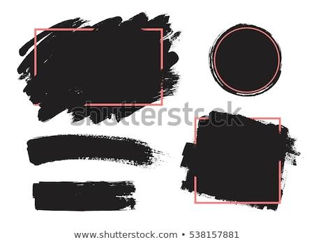 Festék csobbanás izolált textúra terv grunge textúra Stock fotó © cienpies