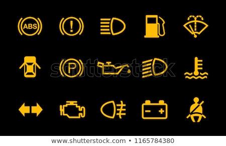 индикатор приборная панель фары 3d визуализации Extreme Сток-фото © albund
