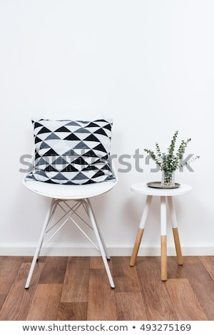simple · decoración · objetos · blanco · interior - foto stock © manera