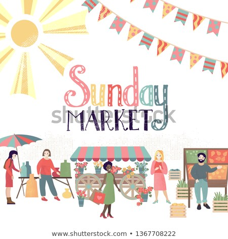 Sunday market Stock photo © alexeys