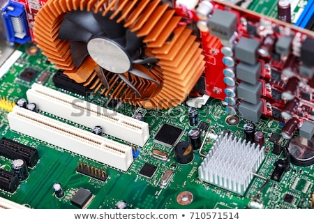 shot · moderne · moederbord · ontwerp · technologie - stockfoto © nobilior