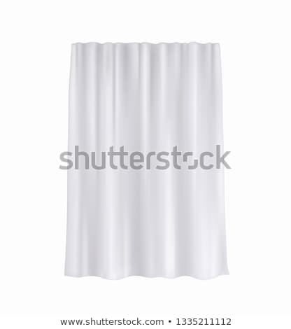 Curtain clothes. Stock photo © Fisher