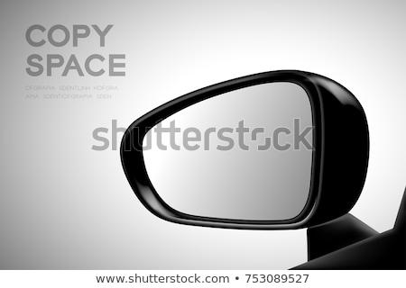 Araba kanat ayna sürücü aşağı otoyol Stok fotoğraf © stevanovicigor