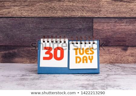 30 międzynarodowych dzień przyjaźni kalendarza kartkę z życzeniami Zdjęcia stock © Olena