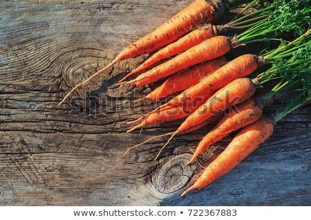 havuç · zemin · organik · taze · büyüyen · organik · gıda - stok fotoğraf © virgin