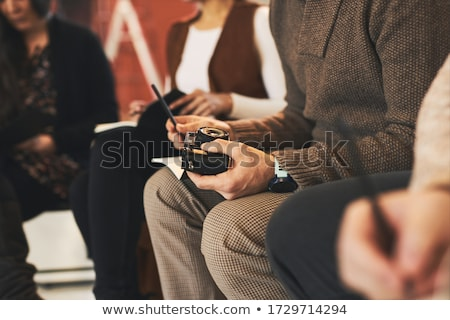 man is teaching something to a trainee stock photo © is2