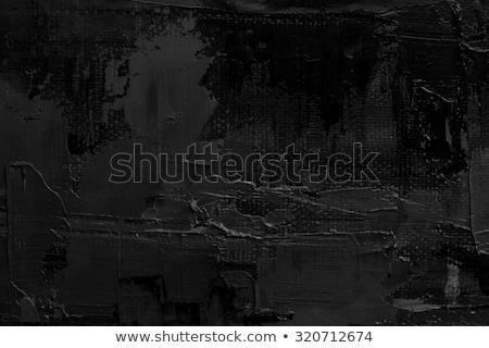 черный · краской · акварель · воды · бумаги · искусства - Сток-фото © sarts