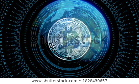 worldwide asset exchange   virtual currency colored logo stock photo © tashatuvango