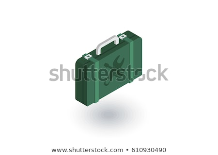 Repair isometric icon, isolated on color background Stock photo © sidmay