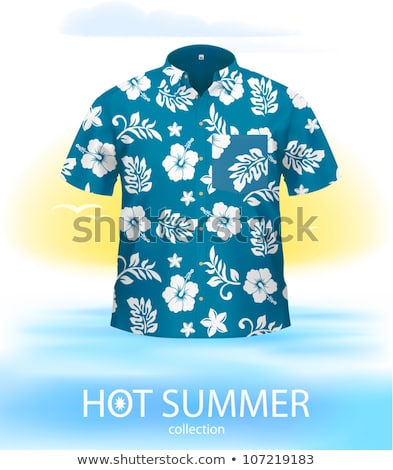 white short sleeved man travel stock photo © toyotoyo