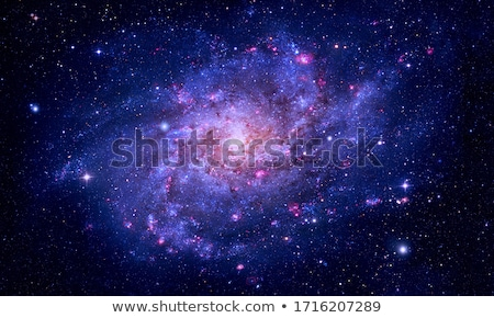 Galaxy and nebula. Elements of this Image Furnished by NASA Stock photo © NASA_images