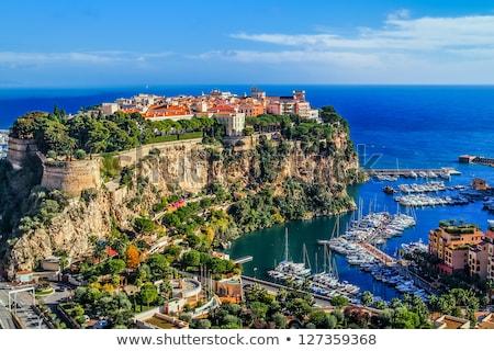 Monaco liman fransız su şehir yaz Stok fotoğraf © vichie81