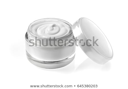 cream jar pattern stock photo © netkov1