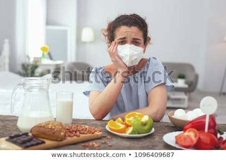 food allergens products causing illness diseases stock photo © robuart