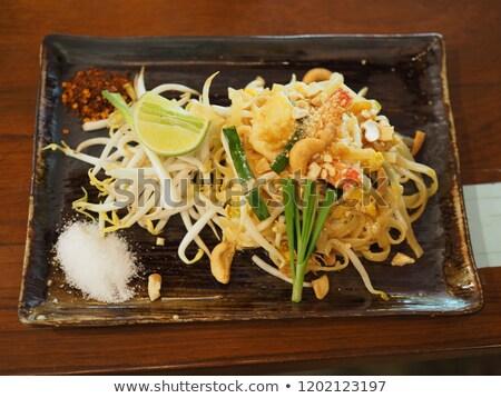 deniz · ürünleri · Taylandlı · pirinç · makarna - stok fotoğraf © dashapetrenko