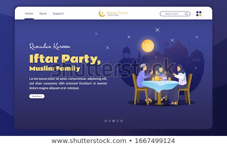 Family tradition concept landing page. Stock photo © RAStudio