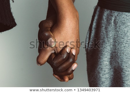 close up of happy married male gay couple Stock photo © dolgachov