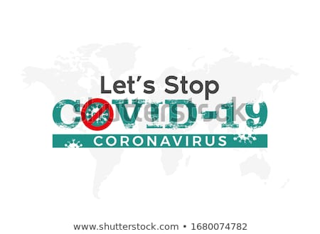 Coronavirus COVID-19 Testing Sign Illustration Stock photo © enterlinedesign