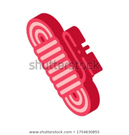 Rope Cable Alpinism Sport Equipment isometric icon Stock photo © pikepicture
