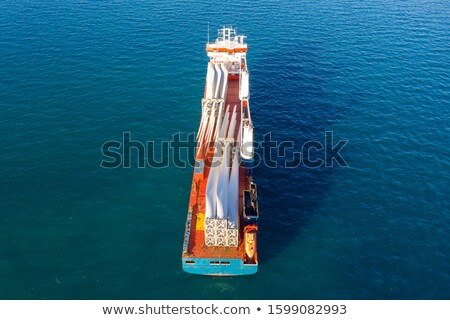 Large Wind Turbine with Blue Sky Stock photo © brianguest