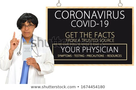 Doctor or Nurse Getting the Facts Stock photo © lovleah