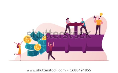 creating shareholder values Stock photo © vichie81