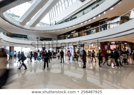 people in rush in shopping mall stock photo © photocreo