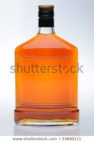 Cognac in bottle without labels Stock photo © ozaiachin
