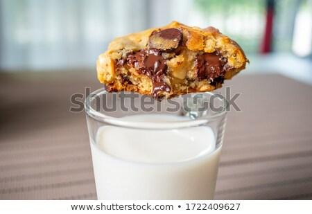 Soft & Chewy Vanilla Cookies Stock photo © gsermek