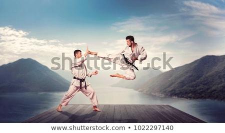 man self defence Stock photo © mariephoto