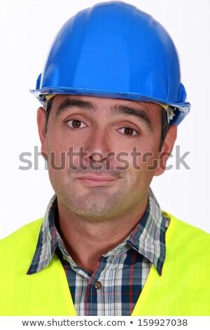 Architekt einfach genug Gebäude Geschäftsmann traurig Stock foto © photography33