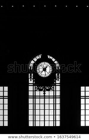 velho · barcos · estação · de · trem · cidade - foto stock © Carpeira10