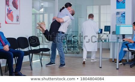 医師 · 結果 · 医療 · 結果 · コンピュータ - ストックフォト © lisafx
