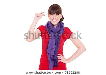 портрет красивая женщина небольшой бит Сток-фото © stockyimages