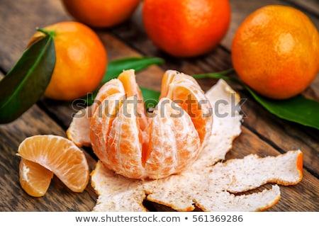 мандарин · оранжевый · мнение · свежие - Сток-фото © klsbear