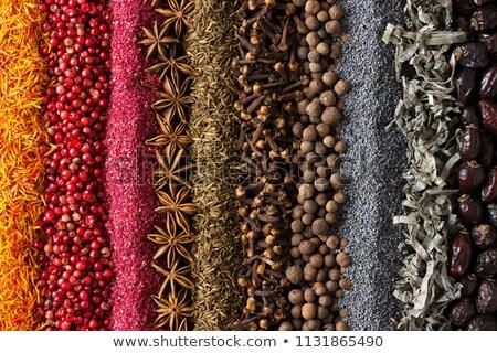 exotic spice stock photo © hypnocreative