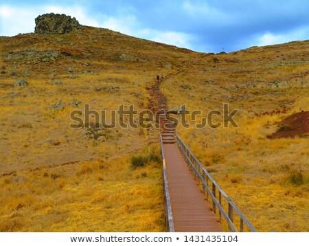 deserto · paisagem · montanha · azul · viajar - foto stock © photography33