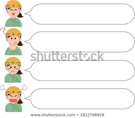 a crying female construction worker stock photo © photography33