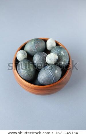 Kő tálak pigment kézzel készített festék ázsiai Stock fotó © crisp