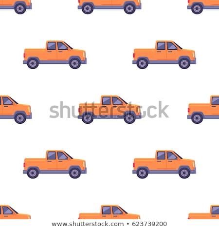 camión · aislado · blanco · coche · movimiento · mover - foto stock © lkeskinen
