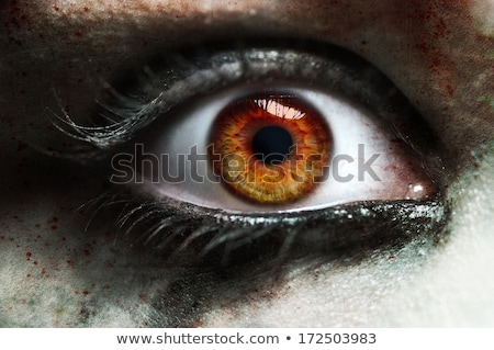 Vermelho olho foto morto pessoa Foto stock © vlad_star