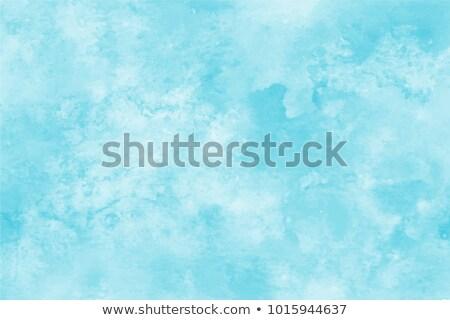 Céu mar verde nuvens paisagem fundo Foto stock © mariephoto