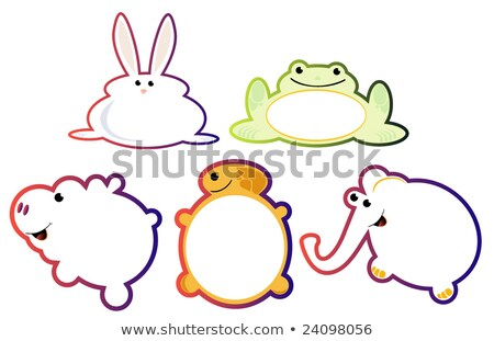 Stok fotoğraf: Hypno Frog Set