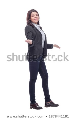 Portrait of an attractive tradeswoman Stock photo © photography33