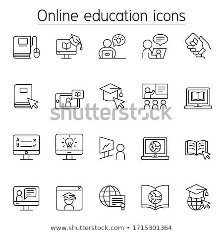Vector icons. Class style Stock photo © Fyuriy